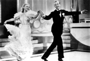 Fred Astaire and Ginger Rogers (Image courtesy of Wikipedia Commons)