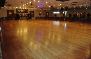 Goldcoast Ballroom's Magnificent 42' X 68' Floating Oak Dance Floor