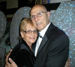 John Homsey with his Sweetheart Helen Lamb