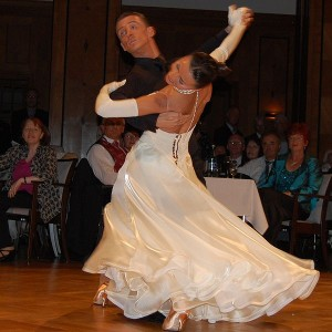 International Standard Ballroom Dancing, Benedetto Feruggia und Claudia Köhler (image courtesy of Wikipedia Commons)