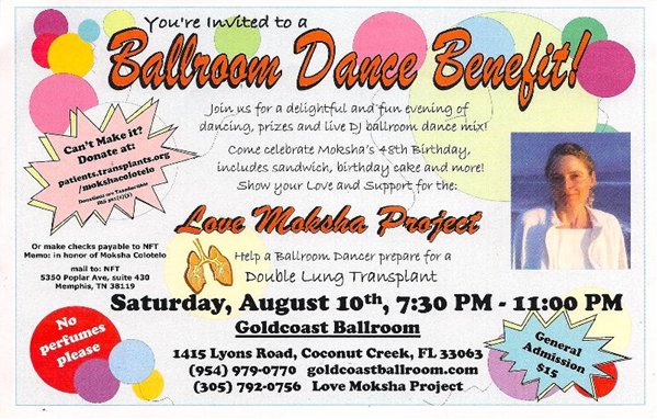 Ballroom Dance Benefit for Moshka