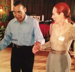 Pedro (Cuban Pete) Aguilar and Barbara Craddock at Goldcoast Ballroom