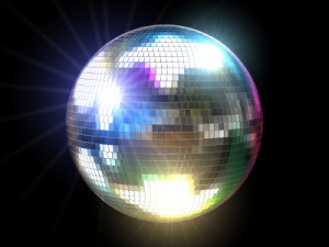 Disco Mirror Ball - Disco Hustle is one of many popular Other Social Dances