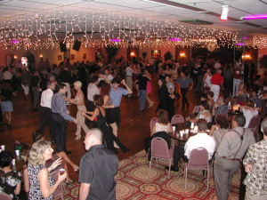 A typical Saturday Night Social Dance at Goldcoast Ballroom