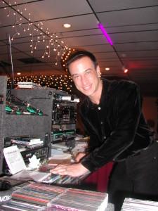 Vinny Munno, Co-Owner at Goldcoast Ballroom, Works his Music Magic as DJ