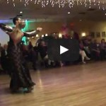 Paolo and Liene Di Lorenzo - Show Dance at Goldcoast Ballroom February 14, 2013